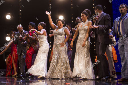 Editorial image of 'Dreamgirls' musical, Media Night, London, UK - 09 Aug 2017