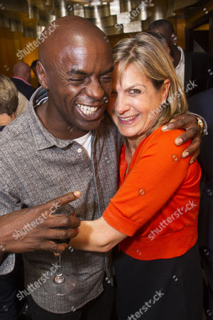 Trevor Nelson and Penny Smith