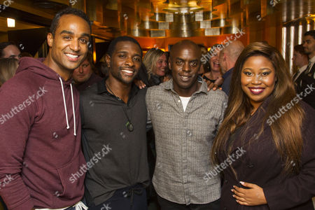 Joe Aaron Reid (Curtis Taylor Jr), Adam J Bernard (Jimmy Early), Trevor Nelson and Karen Mav (Effie White)
