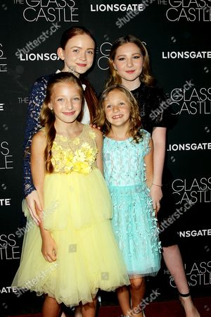 Editorial picture of New York Special Screening of Lionsgate film 'The Glass Castle', New York, USA - 09 Aug 2017
