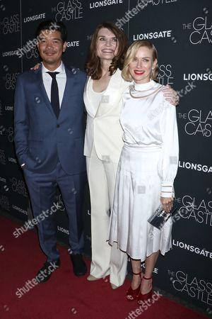 Destin Cretton, Jeannette Walls, Naomi Watts