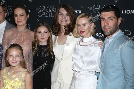 Stock Image of Brie Larson, Ella Anderson, Olive Kate Rice, Jeannette Walls, Naomi Watts, Max Greenfield