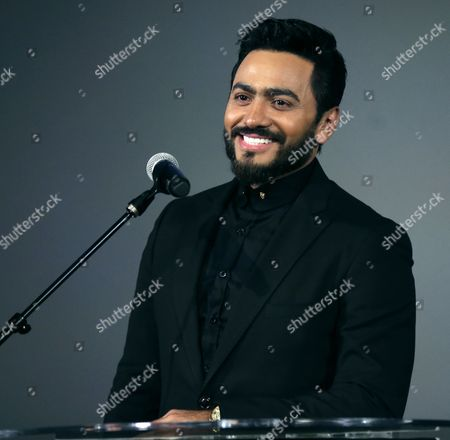 Stock Picture of Tamer Hosny