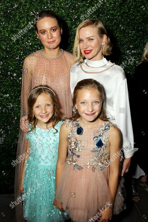 Brie Larson, Naomi Watts, Chandler Head and Guest