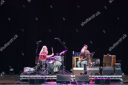 Editorial picture of Seasick Steve in concert, Times Square, Newcastle, UK - 06 Aug 2017