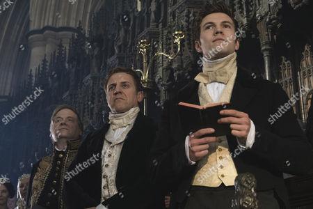 (Series 2, Episode 1) - Nigel Lindsay as Sir Robert Peel and Leo Sutter as Drummond.