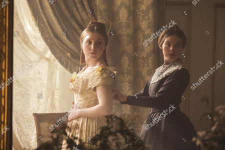 (SR2, Ep 1) - Bebe Cave as Wilhelmina Coke and Nell Hudson as Skerrett.