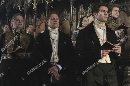(SR2, Ep 1) - Nigel Lindsay as Sir Robert Peel and Leo Sutter as Drummond.