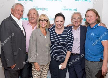 Graham Cole, Mark Wingett, Trudie Goodwin, Chris Simmons and Eric Richard