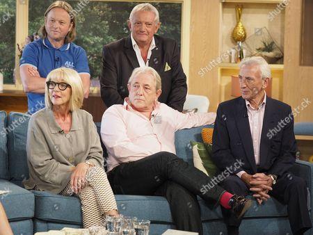 Chris Simmons, Graham Cole, Trudie Goodwin, Mark Wingett and Eric Richard