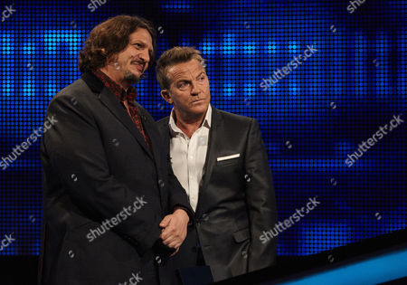 Sunday 20th August 2017  Pictured: Jay Rayner and host Bradley Walsh face The Chaser