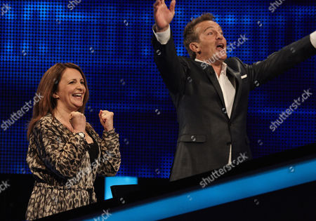 Sunday 20th August 2017  Pictured: Lucy Porter and host Bradley Walsh face The Chaser