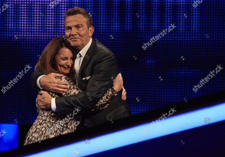 Stock Photo of Sunday 20th August 2017  Pictured: Lucy Porter and host Bradley Walsh face The Chaser