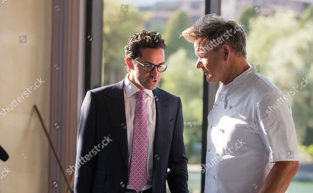 Sean Mcburney and Gordon Ramsay