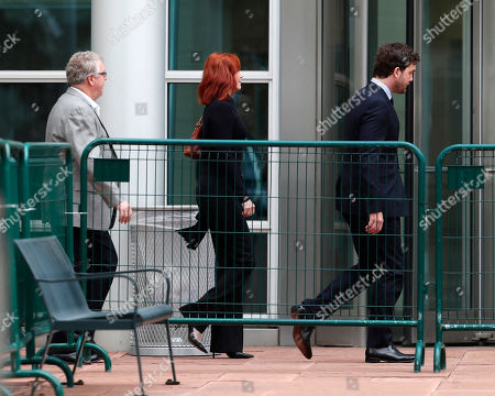 Tree Paine, Austin Swift Tree Paine, left, publicist for pop singer Taylor Swift, follows the singer's brother, Austin Swift, into the federal courthouse for the morning session of the the fourth day of a civil trial to determine whether a Denver radio host groped the singer in a case in federal court, in Denver. Former DJ David Mueller sued Swift after she said he touched her backside before a concert in Denver in 2013. He's seeking at least $3 million. Swift countersued for sexual assault and is seeking $1