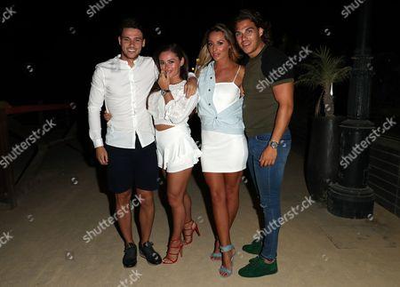 Myles Barnett, Courtney Green, Amber Dowding and Chris Clark
