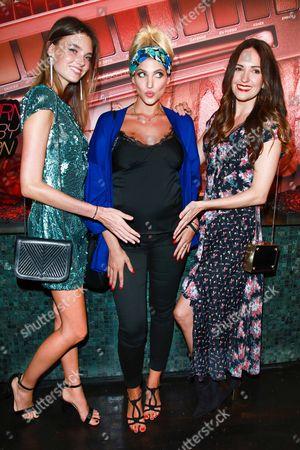 Celine Bethmann, Sarah Nowak and Johanna Klum