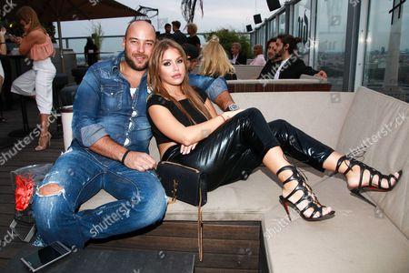 Kim Gloss with partner Alexander Beliaikin