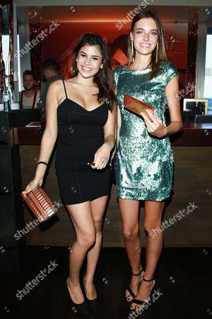 Tanja Tischewitsch and Celine Bethmann