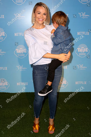 """Julie Solomon Schaech arrives at the Special Screening of """"True and the Rainbow Kingdom"""" at The Grove, in Los Angeles"""