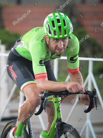 Colorado Springs, Colorado, U.S. - Cannondale Drapac rider, Taylor Phinney, during the opening stage of the inaugural Colorado Classic cycling race, Colorado Springs, Colorado