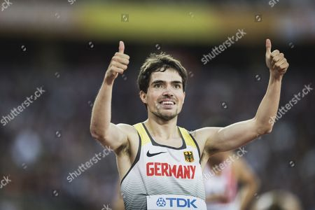 1500m heats, Timo Benitz (Germany)