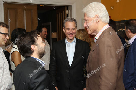 Danny Strong (writer/director), Eric Schneiderman (NY Attorney General), Bill Clinton