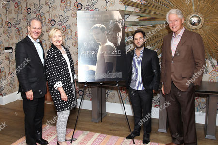 Eric Schneiderman (NY Attorney General), Hillary Clinton, Danny Strong (writer/director), Bill Clinton