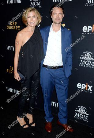 Davey Holmes and Sonya Walger