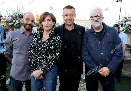 Adriano Goldman - Cinematographer, Nina Gold - Casting Director, Peter Morgan - Creator/Writer and Martin Childs - Production Designer