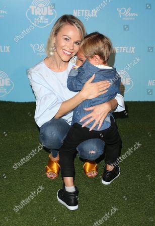 Julie Solomon and son Camden Quinn Schaech