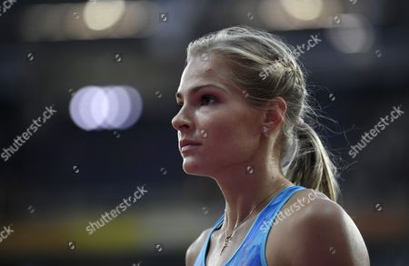 Darya Klishina of Russia competes in the women's Long Jump fianl at the London 2017 IAAF World Championships in London, Britain, 11 August 2017.