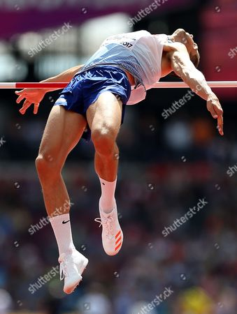 Robbie Grabarz of Great Britain during the Men's High Jump qualification