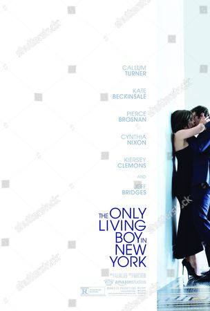 Stock Picture of The Only Living Boy in New York (2017). Poster Art. Kate Beckinsale, Callum Turner