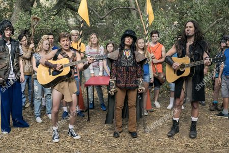 """Editorial image of """"Wet Hot American Summer: Ten Years Later"""" (Series 1) TV Series  - 2017"""