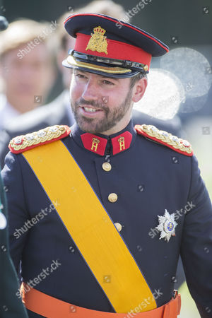 The Crown Prince of Luxembourg Hereditary Grand Duke Guillaume of Luxembourg.