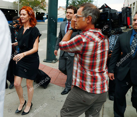 Tree Paine, Austin Swift Tree Paine, left, publicist for pop singer Taylor Swift, leads Swift's brother, Austin, right, past photographers after emerging from the federal courthouse following a ruling in the civil trial for Taylor Swift to determine whether a Denver radio announcer groped the singer in a case in federal court late, in Denver. A judge on Friday threw out a former radio host's case against Taylor Swift in a trial that delved into their dueling lawsuits over whether he groped her during a backstage meet-and-greet and whether she and her team ruined his career