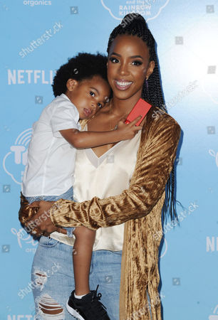 Kelly Rowland and son Titan Jewell Witherspoon