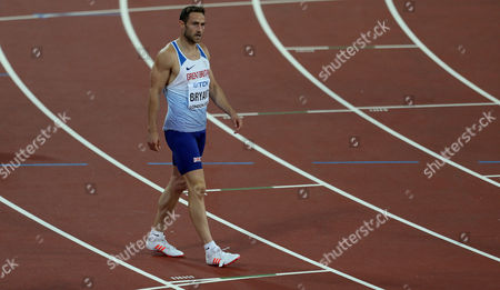 Ashley Bryant of Great Britain after the Decathlon Men's 400 meters