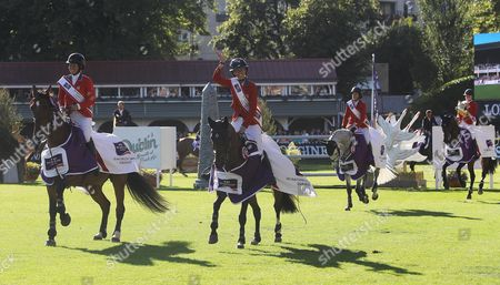 Editorial picture of 2017 Dublin Horse Show, RDS, Dublin  - 11 Aug 2017