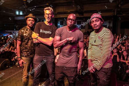 D-Nice, DJ Stretch Armstrong, Dave Chappelle and DJ Trauma