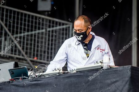 Dan the Automator, Dan Nakamura Dan the Automator of Dr. Octagon performs at 2017 Outside Lands Music Festival at Golden Gate Park, in San Francisco, Calif