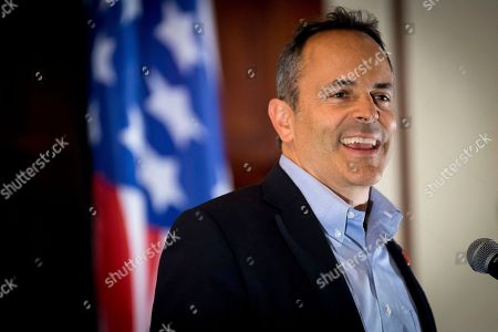 Tea Party Rally Kentucky Gov. Matt Bevin speaks to supporters gathered at The Champions of Liberty Rally in Hebron, Ky., . Gov Bevin was joined at the fundraising event by Senator Rand Paul, R-Ky, and U.S. Reps Thomas Massie, R-Ky., and Rep. Jim Jordan, R-Ohio