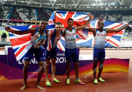 Editorial image of Britain Athletics Worlds, London, United Kingdom - 12 Aug 2017