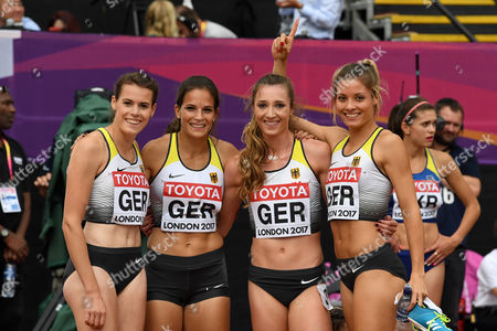 Svea Köhrbrück,  Nadine Gonska, Laura Müller, Ruth Sophie Spelmeyer