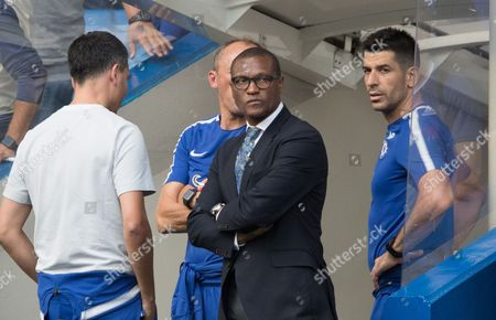 CAPTION CORRECTION Chelsea Technical director Michael Emenalo after 3-2 defeat