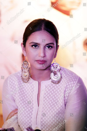 Bollywood actor Huma Qureshi during a press conference to promote her upcoming movie, Partition: 1947, in Amritsar, India, 12 August 2017. Directed by Gurinder Chadha, the movie is scheduled to release all over India in Hindi as 'Partition: 1947' and in English as 'Viceroy's House', 18 August 2017. The movie is based on the story of the partition of India in the year 1947.