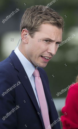 Stock Photo of ITV racing presenter Ollie Bell