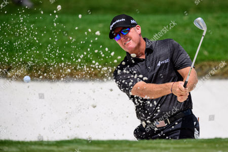 Golfer D. A. Points during the PGA Championship on at Quail Hollow in Charlotte, NC