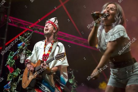 Editorial photo of 25th Sziget (Island) Festival in northern Budapest, Hungary - 12 Aug 2017